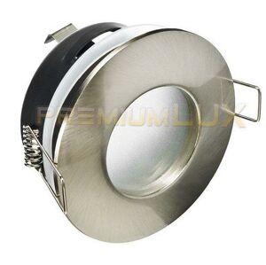 PREMIUMLUX Podhledové bodové svítidlo ZETA matný chrom, IP44, LUX01240